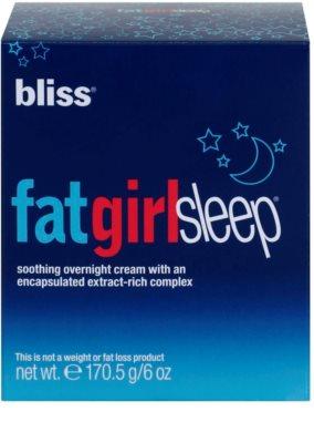 Bliss Body Firming & Toning festigende Nachtcreme für den Körper 2