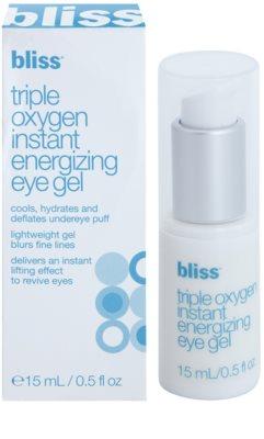 Bliss Skin Care feuchtigkeitsspendendes Augengel mit glättender Wirkung 2