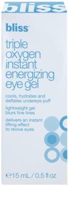 Bliss Skin Care feuchtigkeitsspendendes Augengel mit glättender Wirkung 3