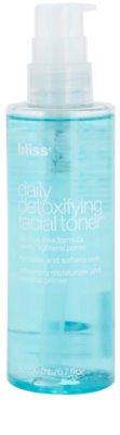Bliss Skin Care gyengéd tisztító tonik hidratáló hatással