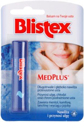 Blistex MedPlus zaščitni balzam za ustnice
