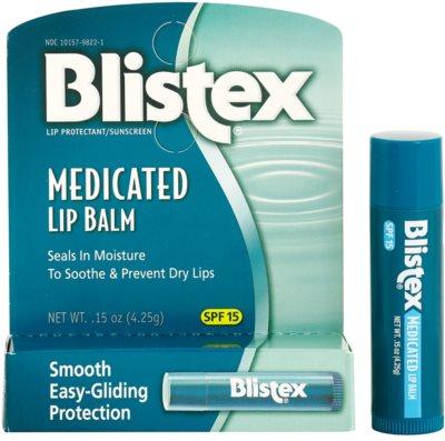 Blistex Medicated vlažilni balzam za ustnice SPF 15 2