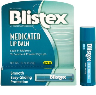 Blistex Medicated bálsamo hidratante para lábios SPF 15 2