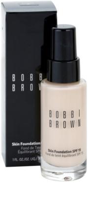 Bobbi Brown Skin Foundation vlažilni tekoči puder SPF 15 1