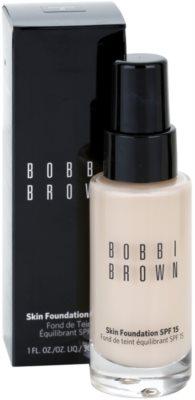 Bobbi Brown Skin Foundation base hidratante SPF 15 1