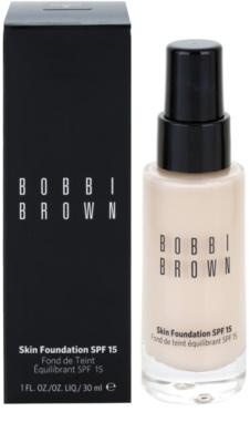 Bobbi Brown Skin Foundation vlažilni tekoči puder SPF 15 2