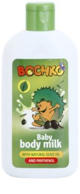 Bochko Care loção corporal com azeite natural e pantenol para crianças