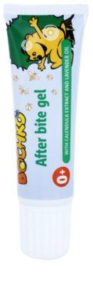Bochko Special Care gel con extracto de caléndula y aceite de lavanda para tratar picaduras de insecto