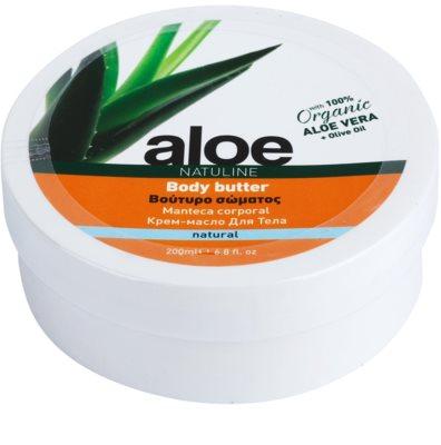 Bodyfarm Natuline Aloe manteca corporal con aloe vera