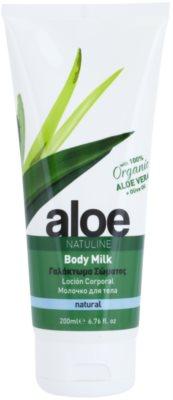 Bodyfarm Natuline Aloe мляко за тяло  с алое вера