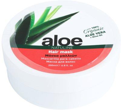 Bodyfarm Natuline Aloe maska na vlasy s aloe vera