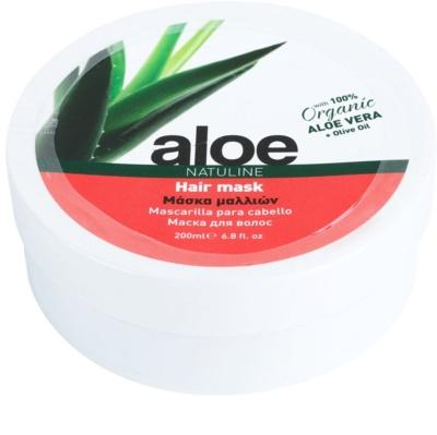 Bodyfarm Natuline Aloe maska za lase z aloe vero