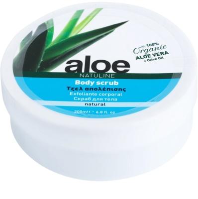 Bodyfarm Natuline Aloe exfoliant corp cu aloe vera