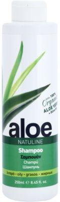 Bodyfarm Natuline Aloe šampon pro mastné vlasy s aloe vera