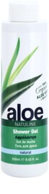 Bodyfarm Natuline Aloe sprchový gel s aloe vera