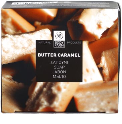 Bodyfarm Butter Caramel tuhé mýdlo 3