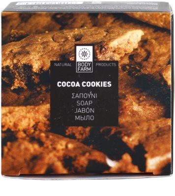 Bodyfarm Cocoa Cookies mydło w kostce 3