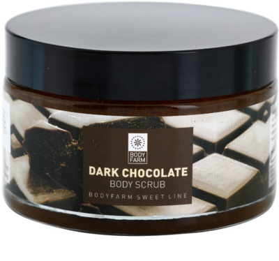 Bodyfarm Dark Chocolate piling za telo