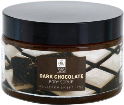 Bodyfarm Dark Chocolate tělový peeling