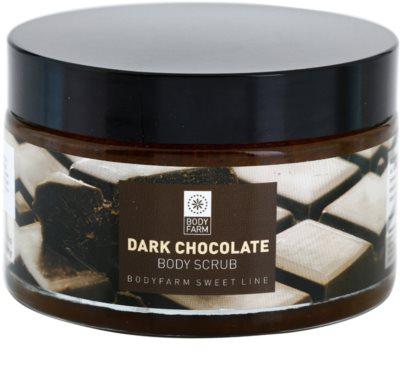 Bodyfarm Dark Chocolate testpeeling