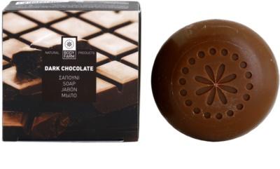 Bodyfarm Dark Chocolate jabón sólido