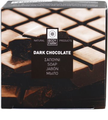 Bodyfarm Dark Chocolate mydło w kostce 3