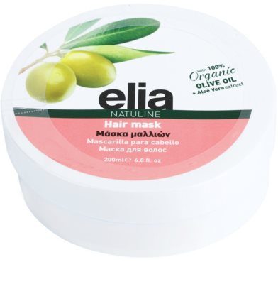 Bodyfarm Natuline Elia maska na vlasy s olivovým olejem