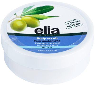 Bodyfarm Natuline Elia peeling do ciała z olejem z oliwek
