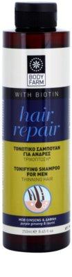 Bodyfarm Hair Repair champú calmante para la pérdida de densidad del cabello