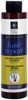 Bodyfarm Hair Repair sampon cu efect calmant pentru parul subtiat