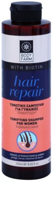 Bodyfarm Hair Repair sampon pentru cresterea parului pentru parul subtiat