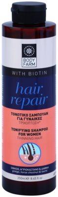 Bodyfarm Hair Repair spodbujajoči šampon za redke lase
