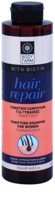 Bodyfarm Hair Repair stimuláló sampon a ritkuló hajra