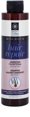 Bodyfarm Hair Repair szampon przeciwłupieżowy do skóry suchej