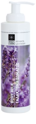 Bodyfarm Lavender telové mlieko