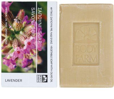 Bodyfarm Lavender tuhé mýdlo