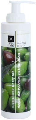 Bodyfarm Olive Oil feuchtigkeitsspendender Conditioner für trockenes Haar