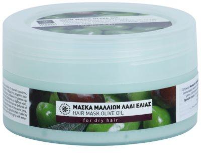 Bodyfarm Olive Oil mascarilla hidratante para cabello seco