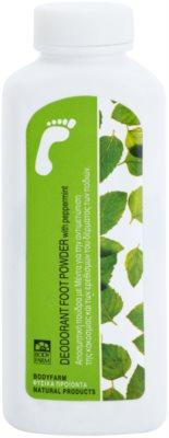 Bodyfarm Feet Care Peppermint púdrový deodorant na chodidlá