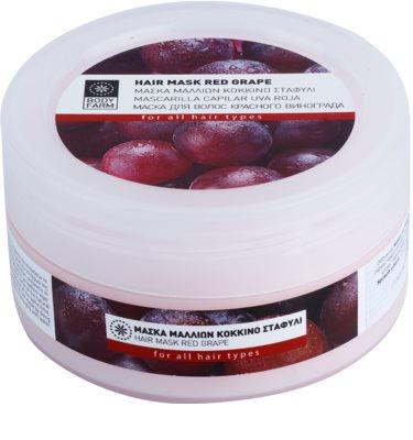 Bodyfarm Red Grape máscara para cabelo