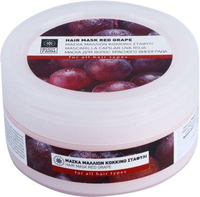 Bodyfarm Red Grape maseczka  do włosów