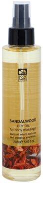 Bodyfarm Sandalwood ulei de masaj