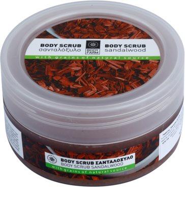 Bodyfarm Sandalwood exfoliant corp