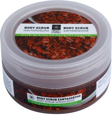 Bodyfarm Sandalwood telový peeling