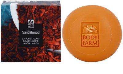 Bodyfarm Sandalwood mydlo