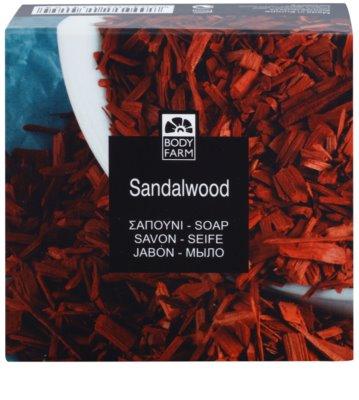 Bodyfarm Sandalwood mydlo 2
