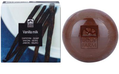 Bodyfarm Vanilla-Milk jabón sólido