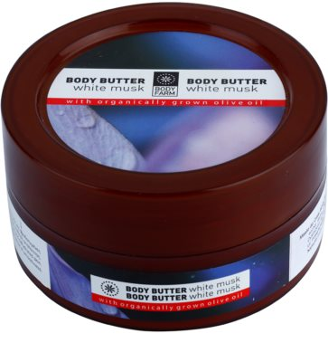 Bodyfarm White Musk manteiga corporal
