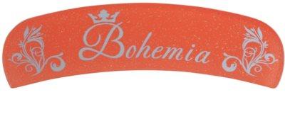 Bohemia Crystal Bohemia Glitter szklany pilniczek do paznokci z brokatem