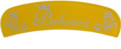 Bohemia Crystal Bohemia Glossy lima curva de vidro